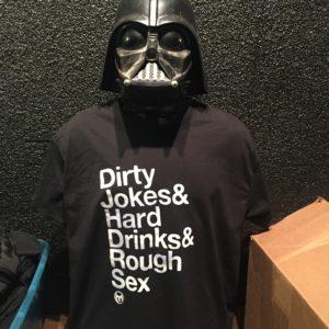 Vader rocks an X-Large